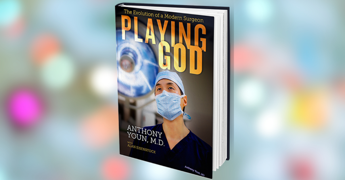, Enter to WIN the Book PLAYING GOD by Dr. Anthony Yuon, Uplifting Content
